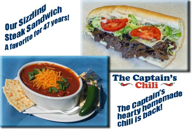 Captain Nemo's Delicious Steak Submarines