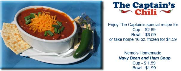 Captain Nemo's - The Captain's Chili